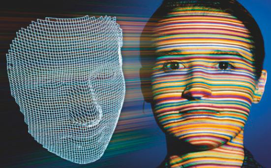 CCT Messverfahren auf Gesicht demonstriert