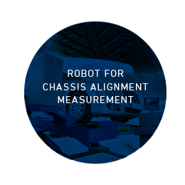 Chassis alignment measurement with APi